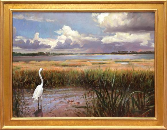 Clearing on the Marsh, Kiawah