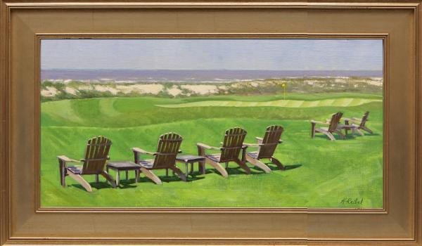 Michael Reibel, Front Row Seating... The 18th at Ocean Course